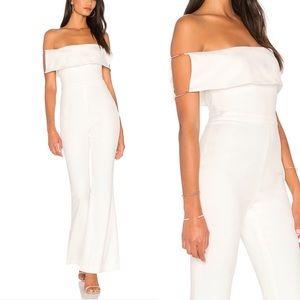 StyleStalker Off the Shoulder Savannah Jumpsuit